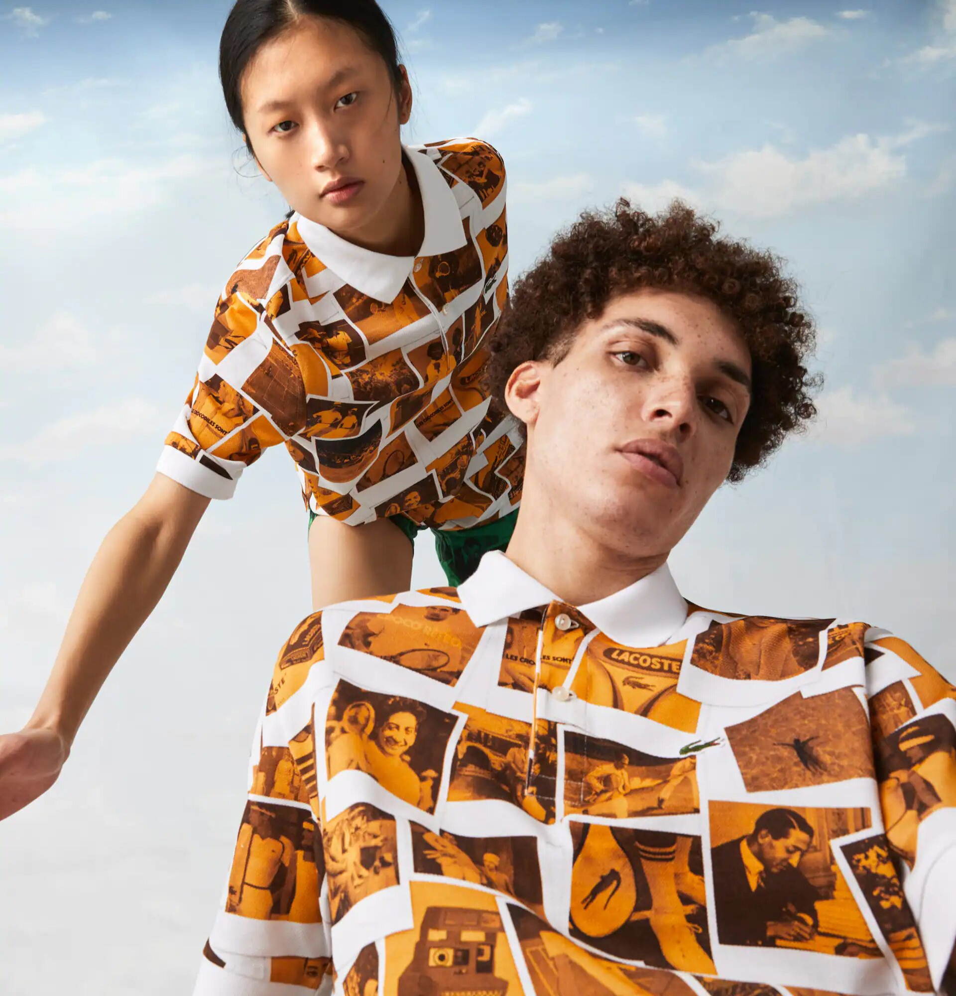 Lacoste lanzó una colaboración Polaroid: imágenes