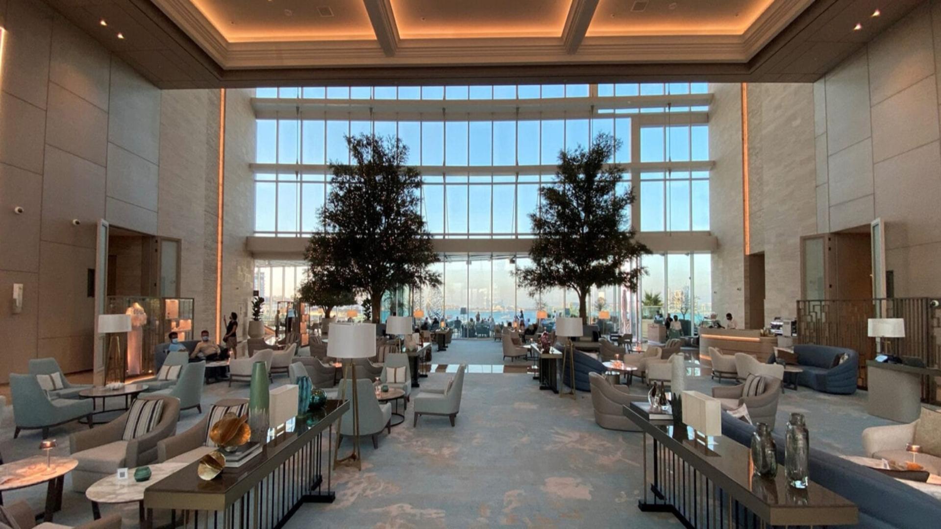 Address Beach Resort, un complejo hotelero de Dubai