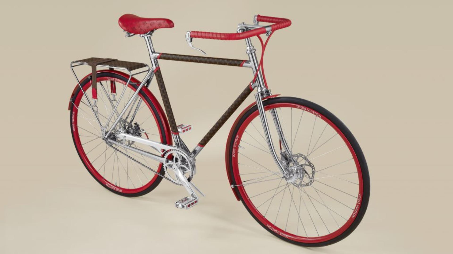 Louis Vuitton lanzo su línea de bicicletas