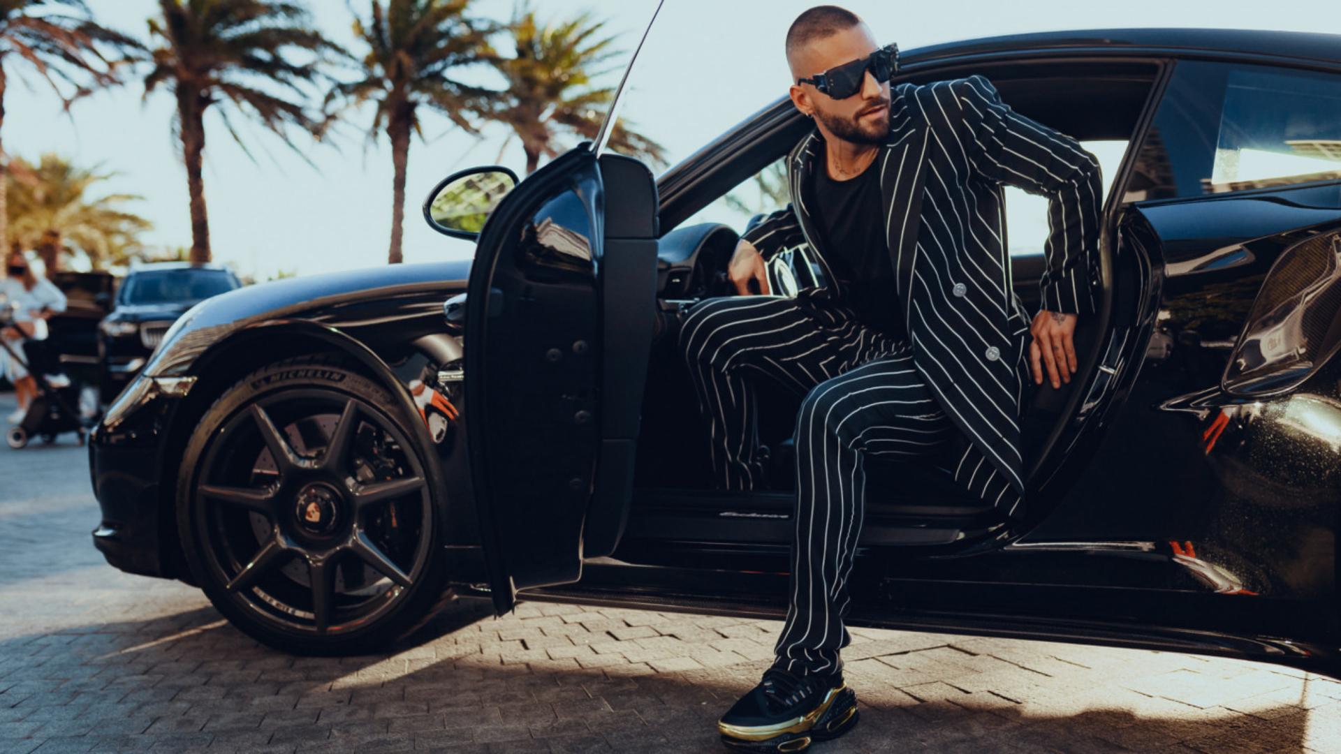 Maluma lanzó su línea de ropa con Balmain