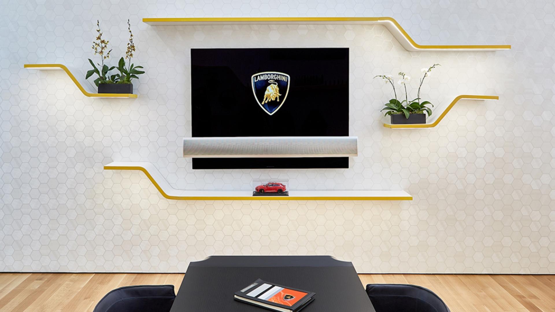 Así es el exclusivo nuevo local de Lamborghini en Nueva York