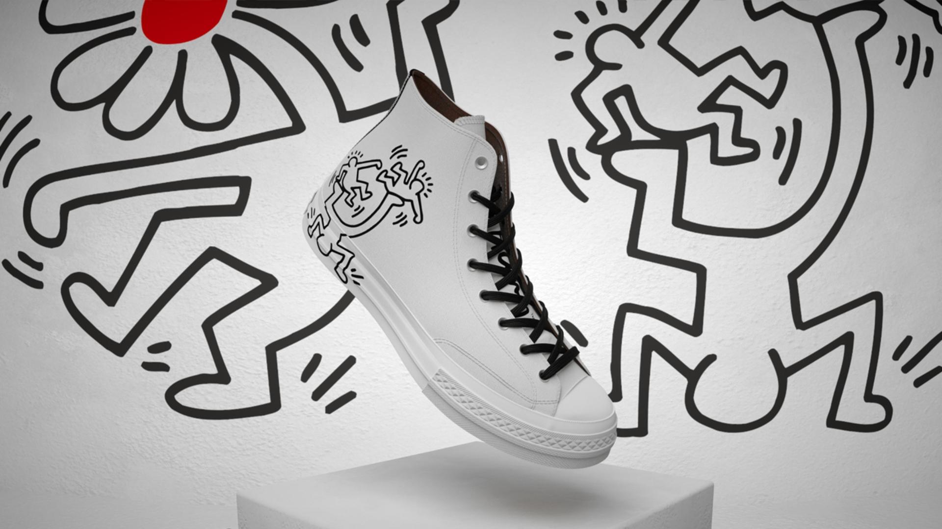 Converse x Keith Haring: una colección llena de movimiento y color