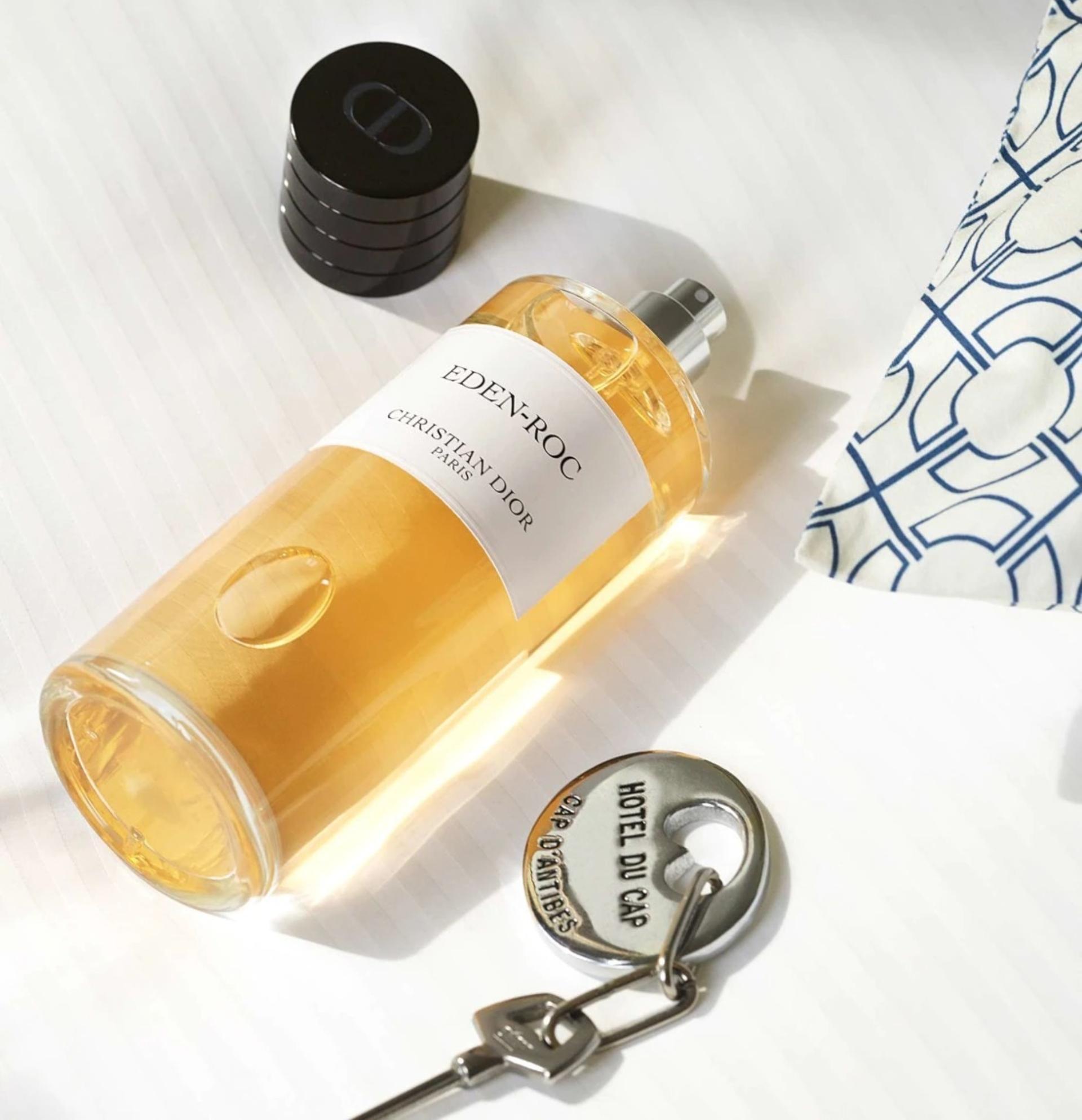 Así es Eden Roc el nuevo perfume de Dior en detalle