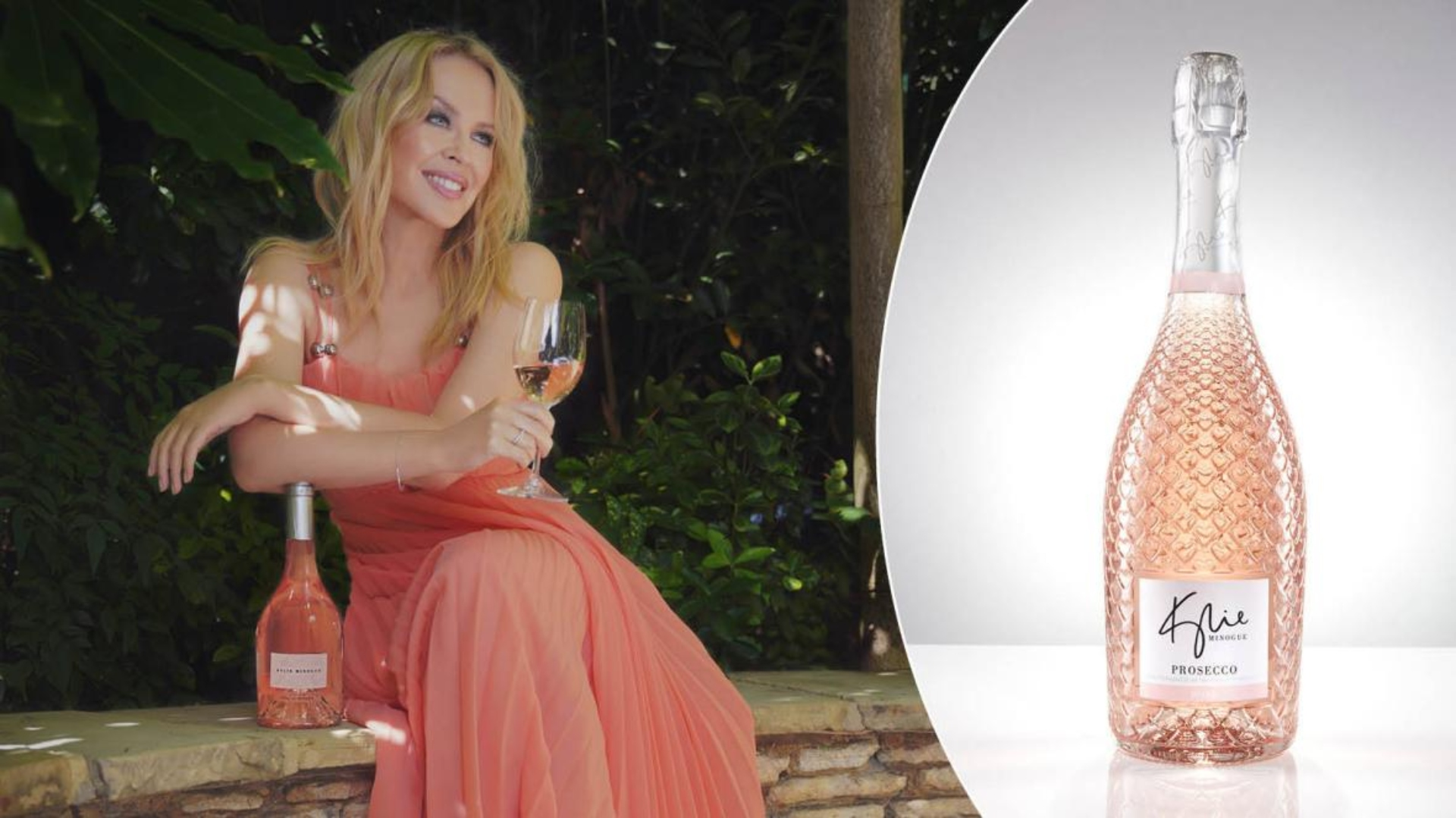 Kylie Minogue y su nuevo vino son un éxito en ventas