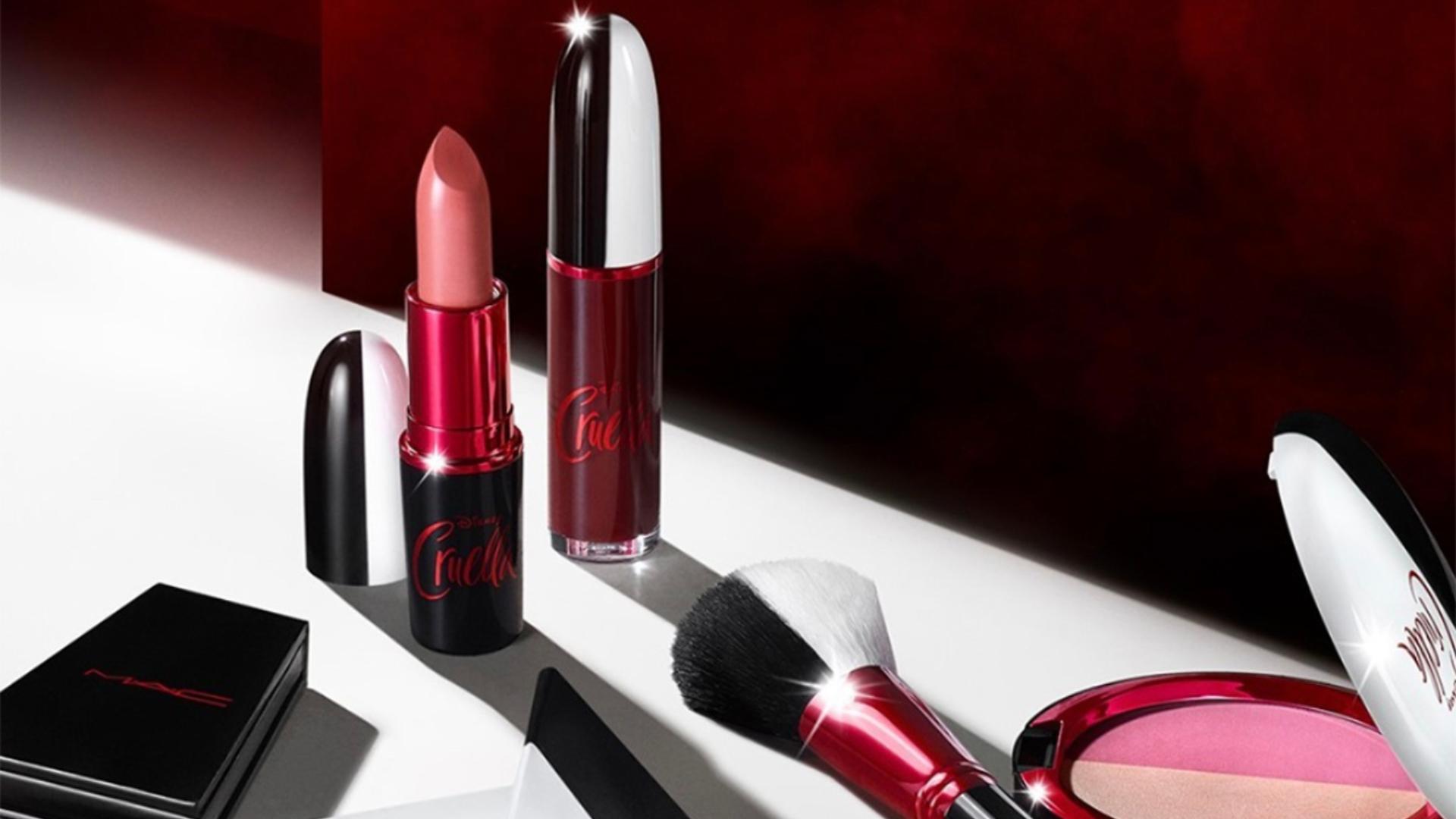 MAC y Disney lanzaron maquillajes de Cruella De Vil