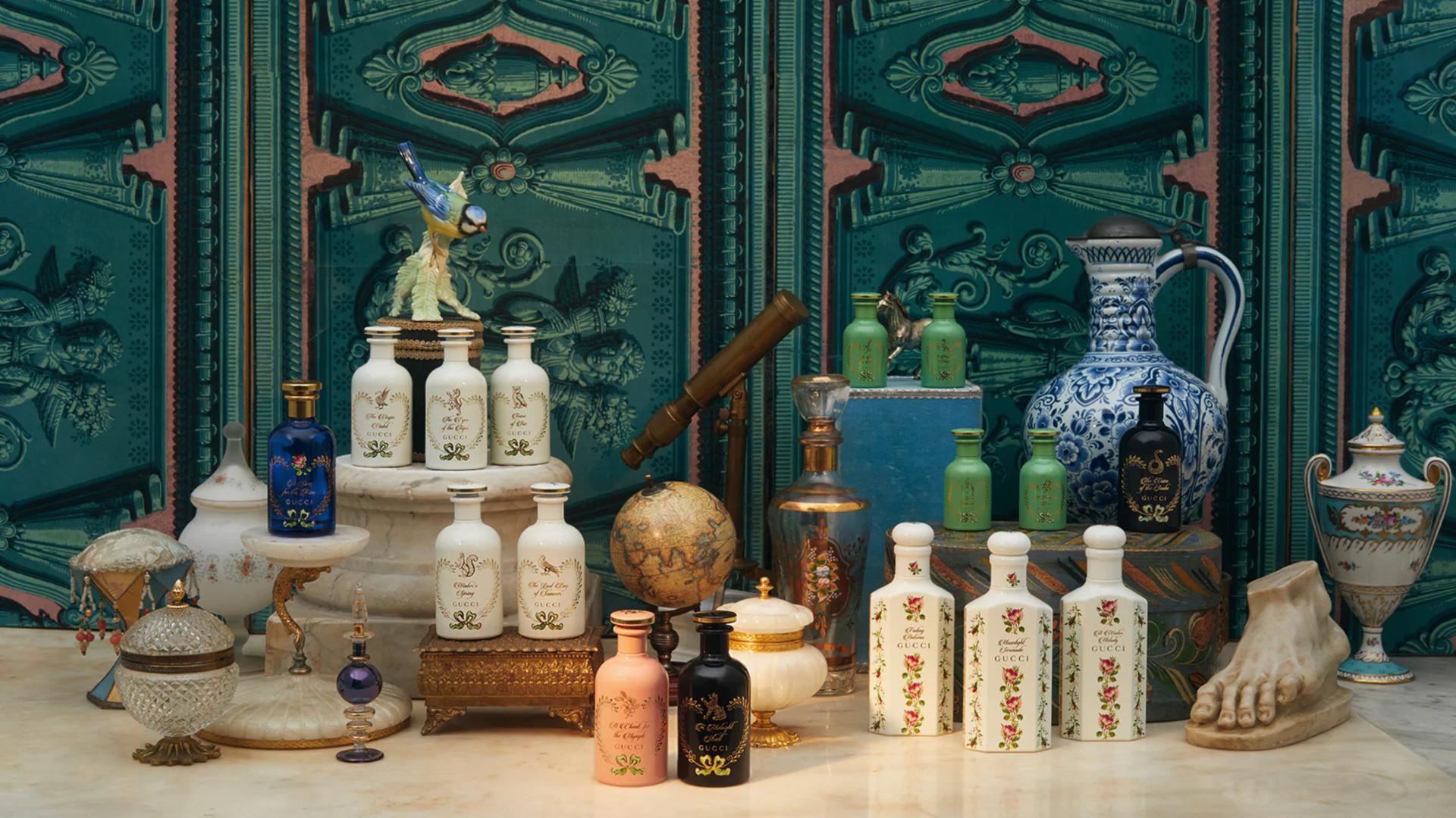 Gucci lanzó su nueva línea de perfumes