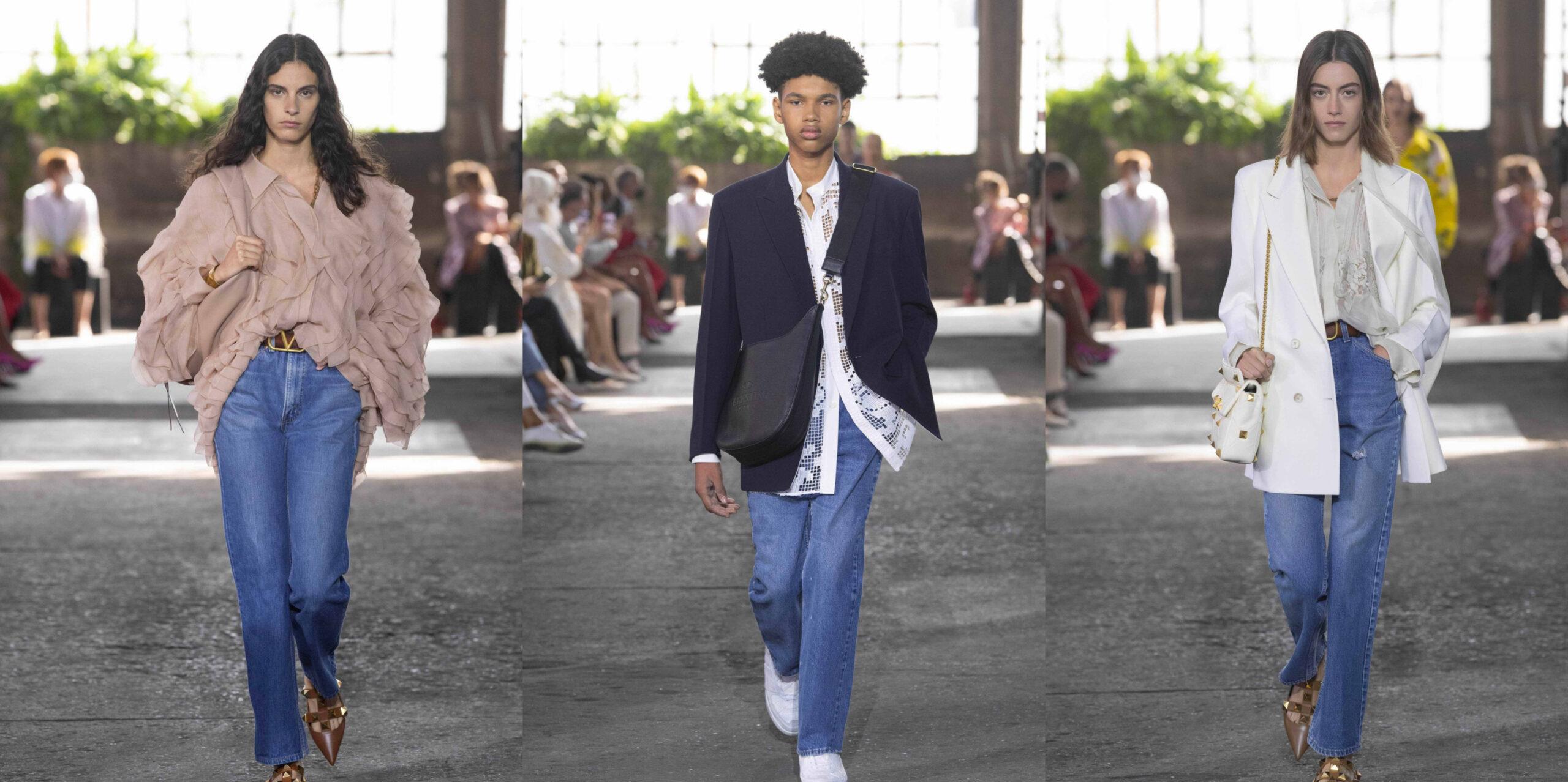 Levi's y Valentino, lanzaron un modelo vintage de jean