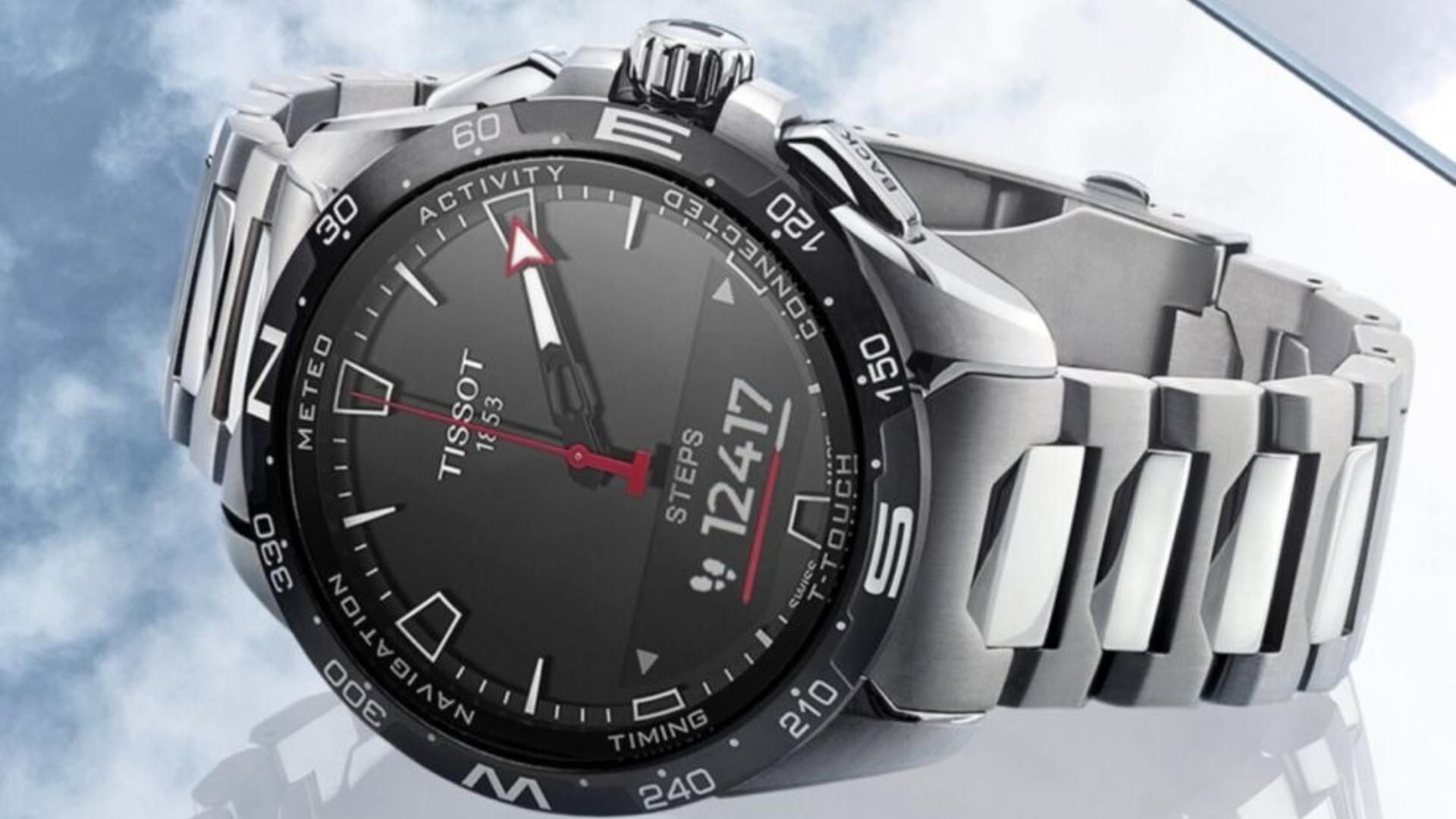 Tissot T-Touch Connect el reloj con carga solar: imágenes