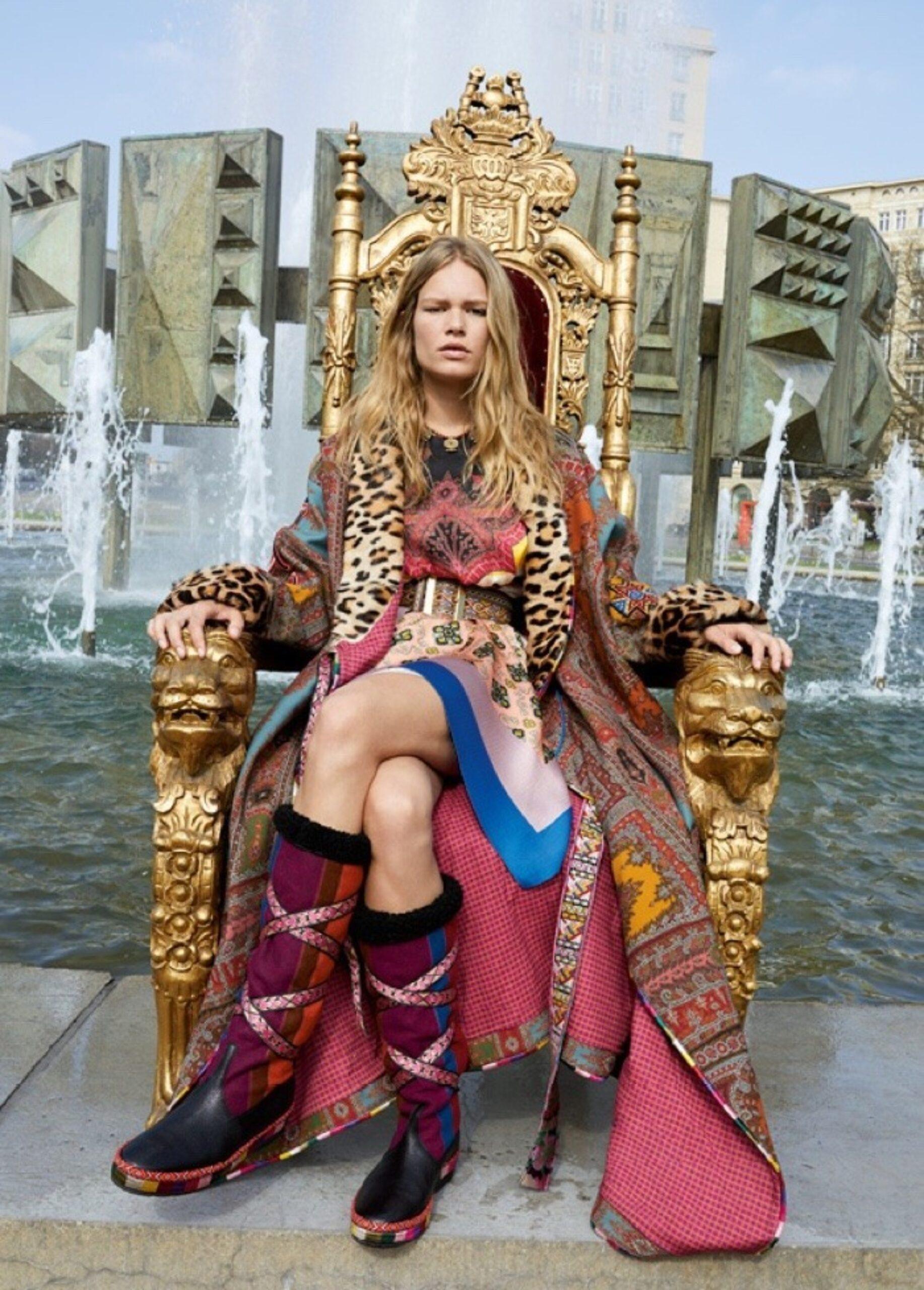 Anna Ewers la exitosa modelo con un rostro que recuerda a los 90´