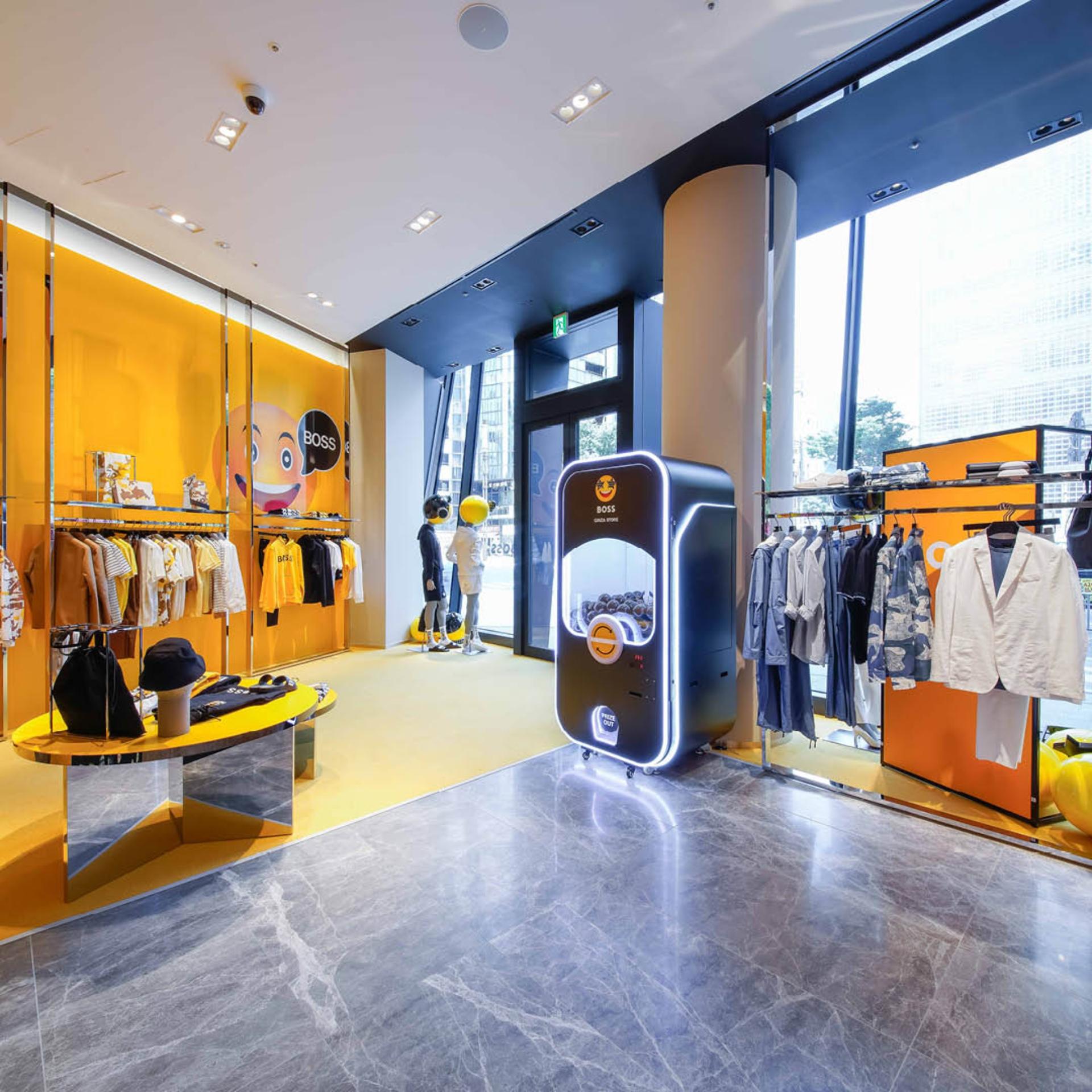 Así es la nueva tienda de Hugo Boss en Tokio
