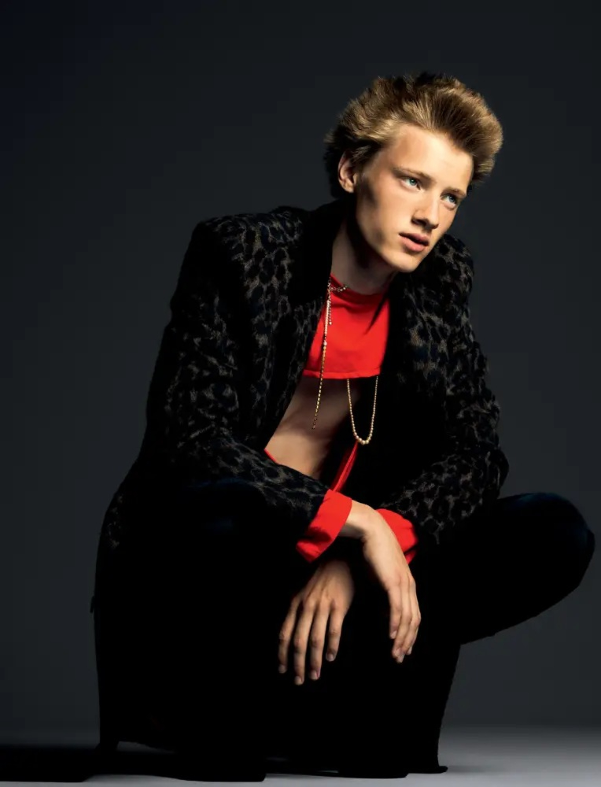 Braien Vaiksaar el modelo estonio que conquistó la industria fashion