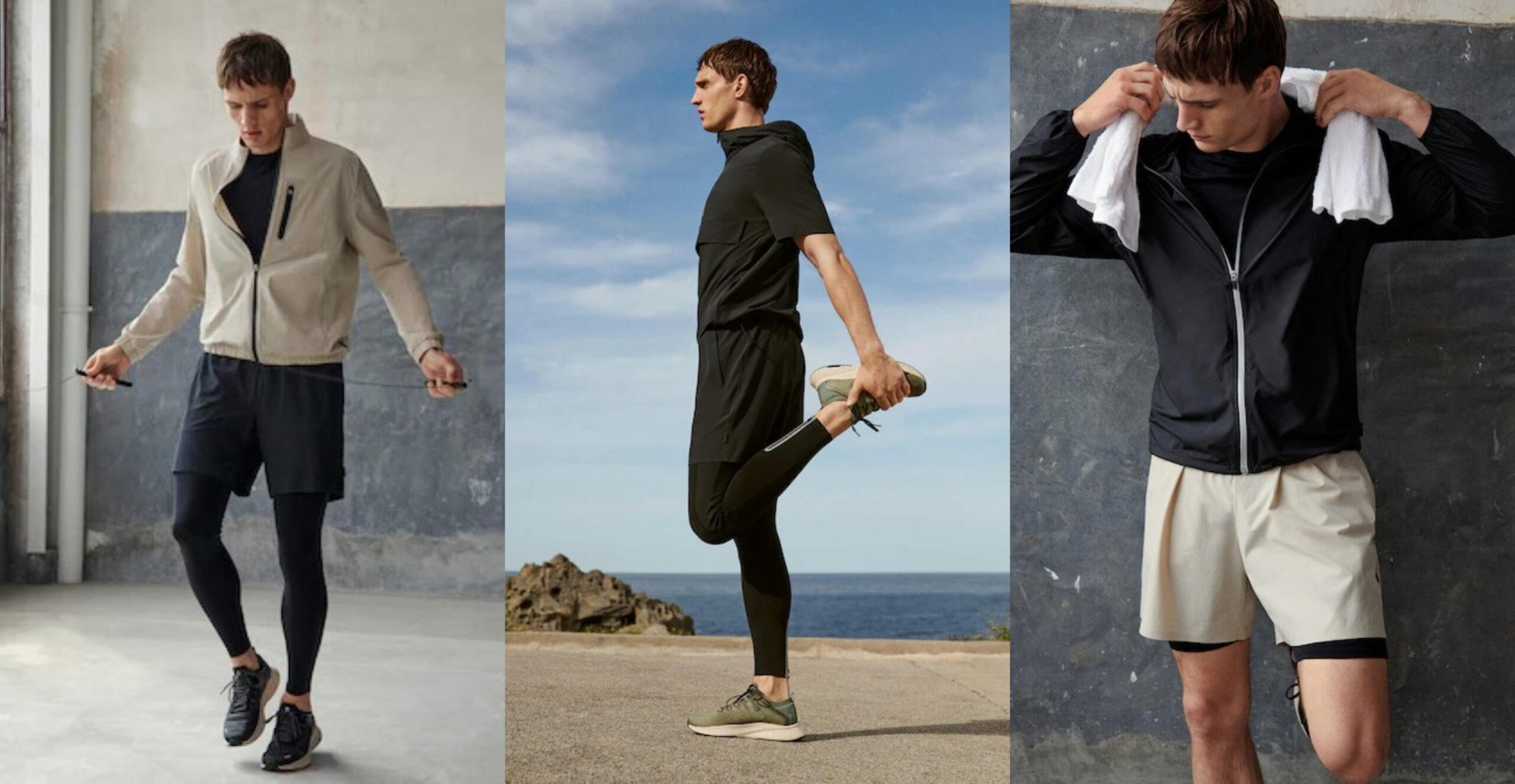 Mango lanzó su línea deportiva para hombres: Activewear