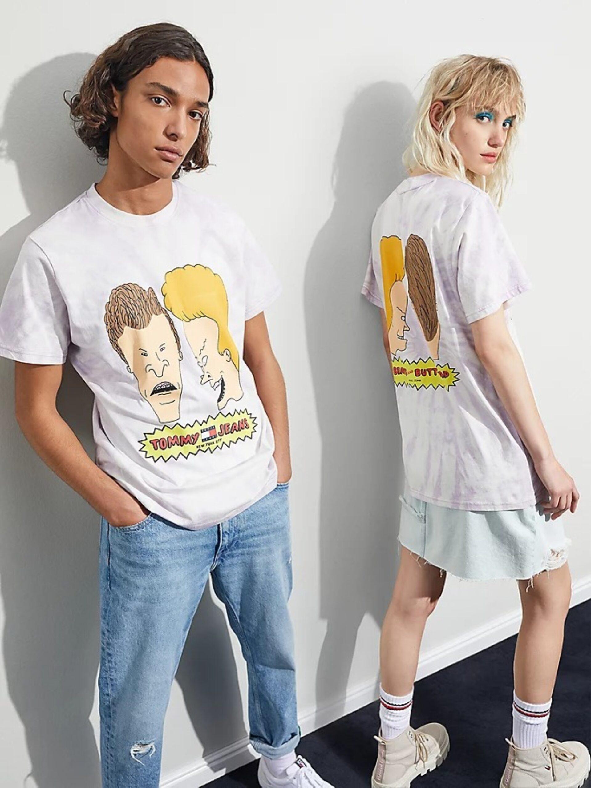 Tommy Jeans lanzó una nueva colección 2021 que celebra los años 90' y 2000