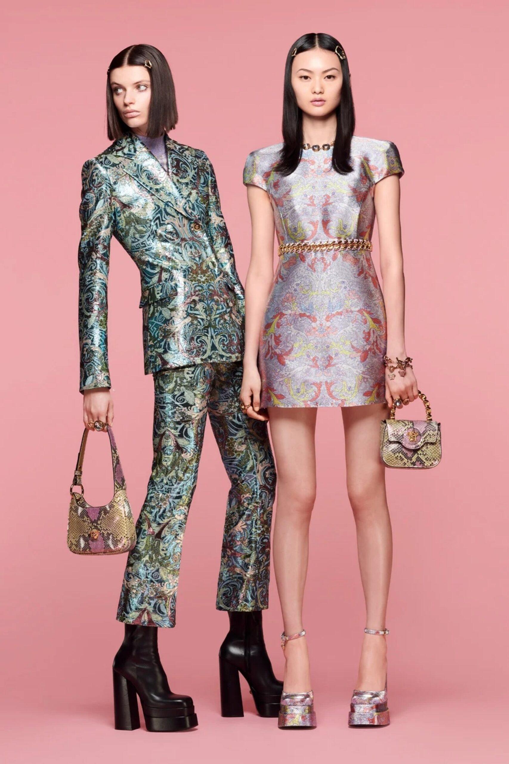 Versace presentó su colección resort 2022