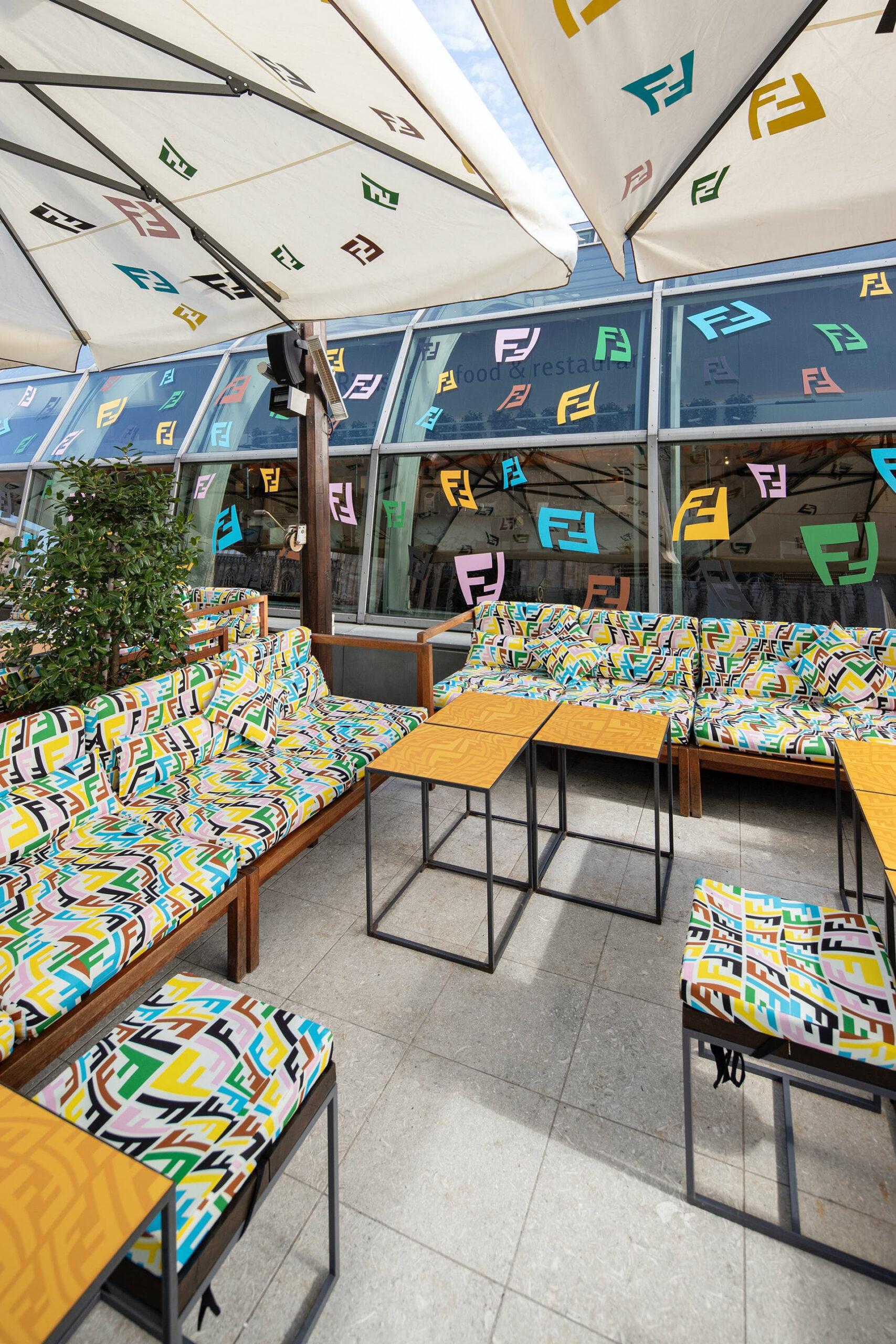Así es el nuevo Fendi Caffé en Miami: imágenes para conocerlo