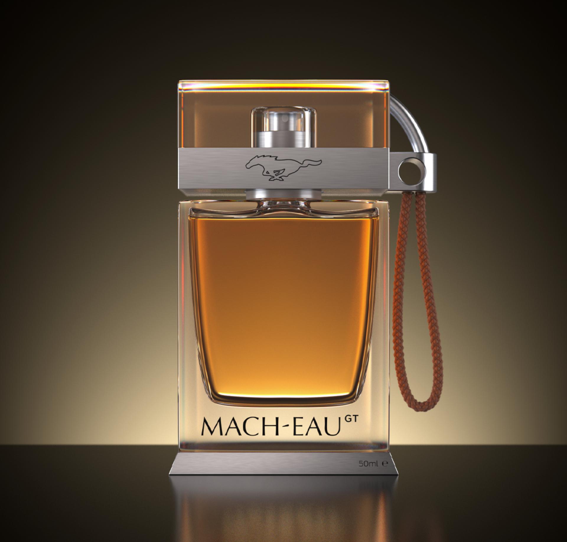 """""""Mach-Eau"""", perfume con el que sorprendió Ford"""