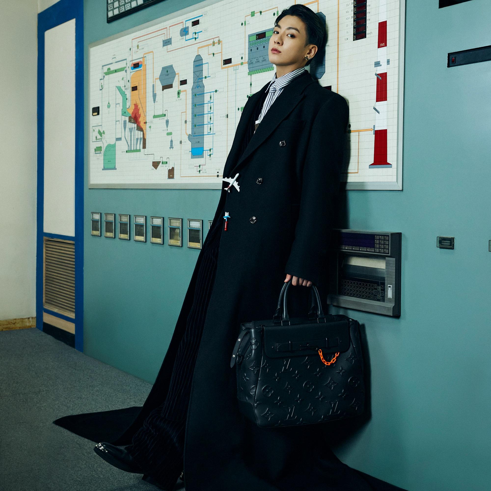 La banda de K-Pop, BTS protagonizó la campaña de Louis Vuitton Men