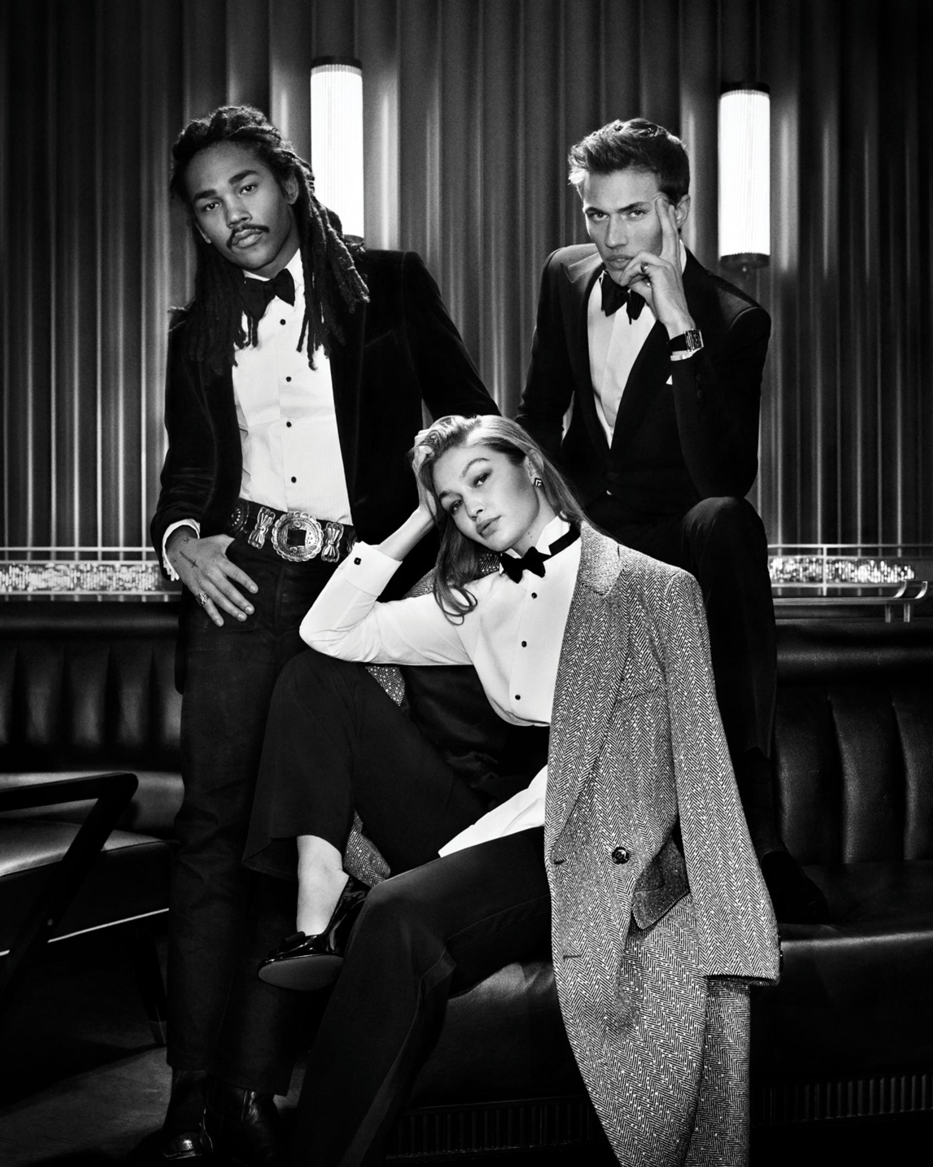 Ralph Lauren lanzó su nuevo perfume para hombres