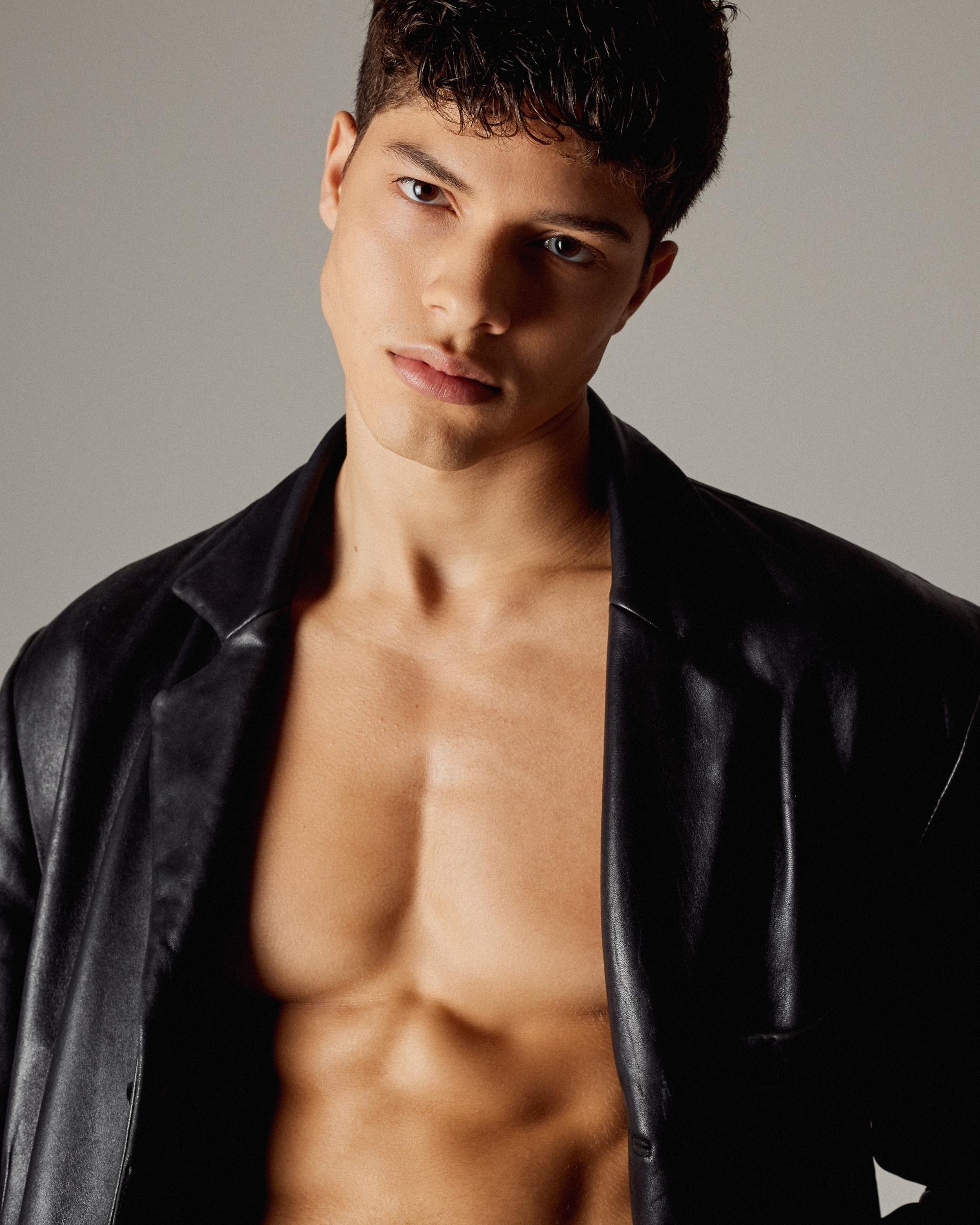 Nacho Penin el modelo español del momento