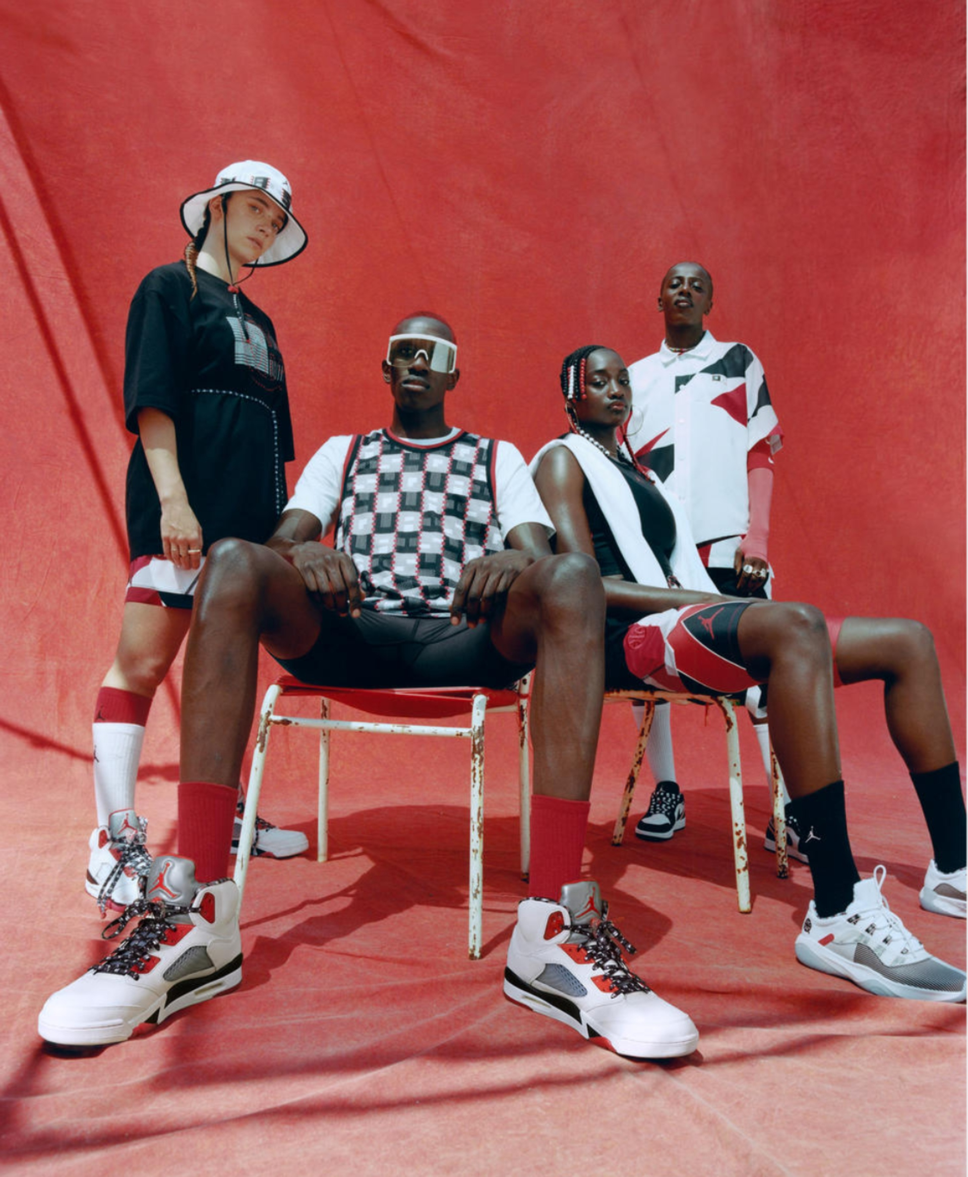 Nike presentó su nueva colección Jordan x Quai 54