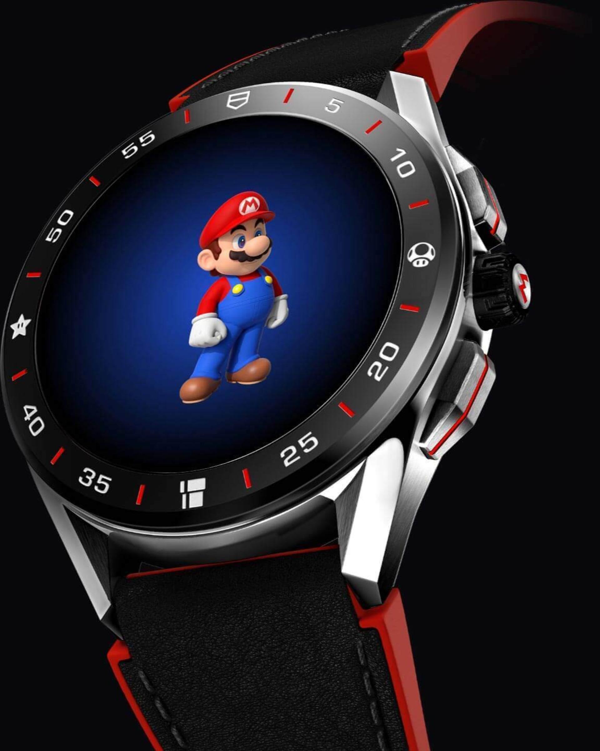 Así es el nuevo reloj de Tag Heuer de Super Mario Bros