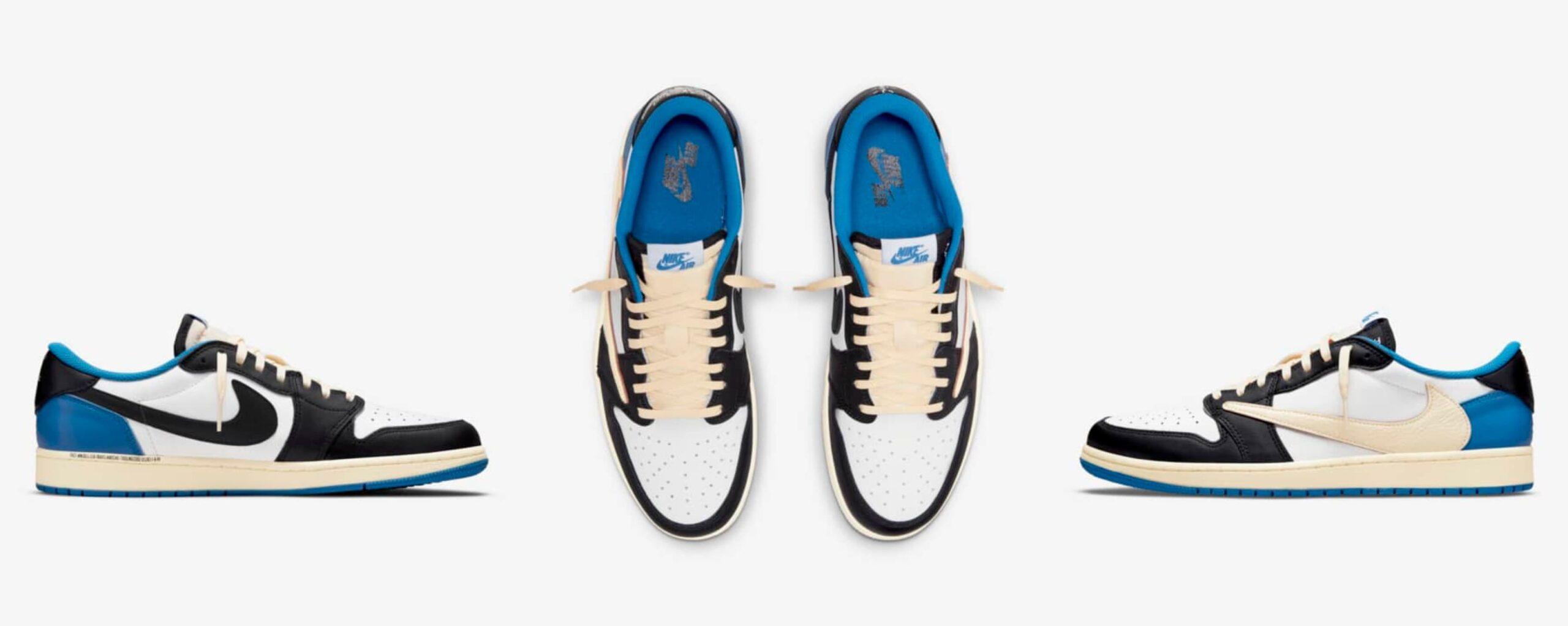 Así son las nuevas zapatillas de Nike x Travis Scott