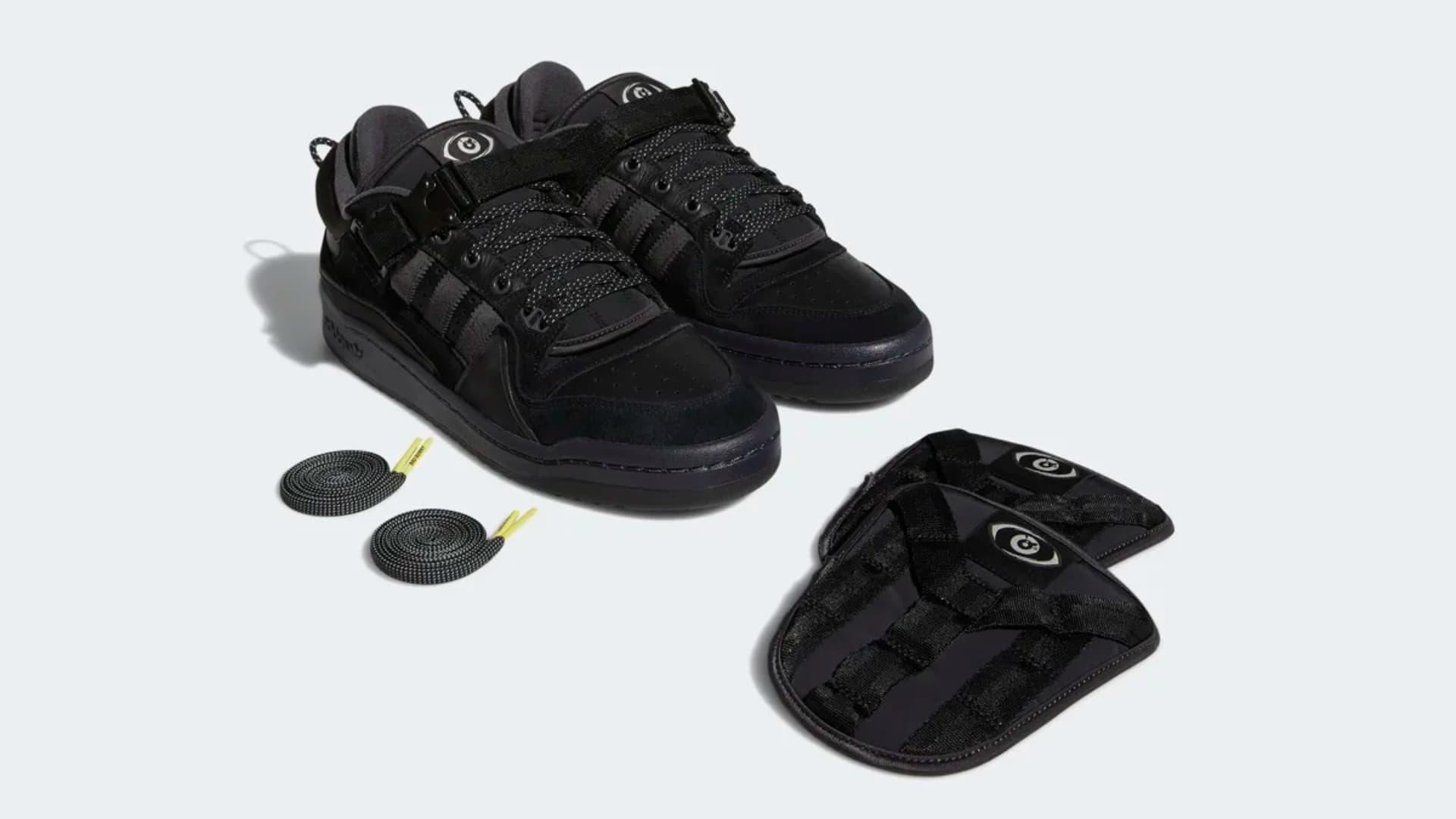 Adidas y Bad Bunny, lanzaron las nuevas zapatillas Forum