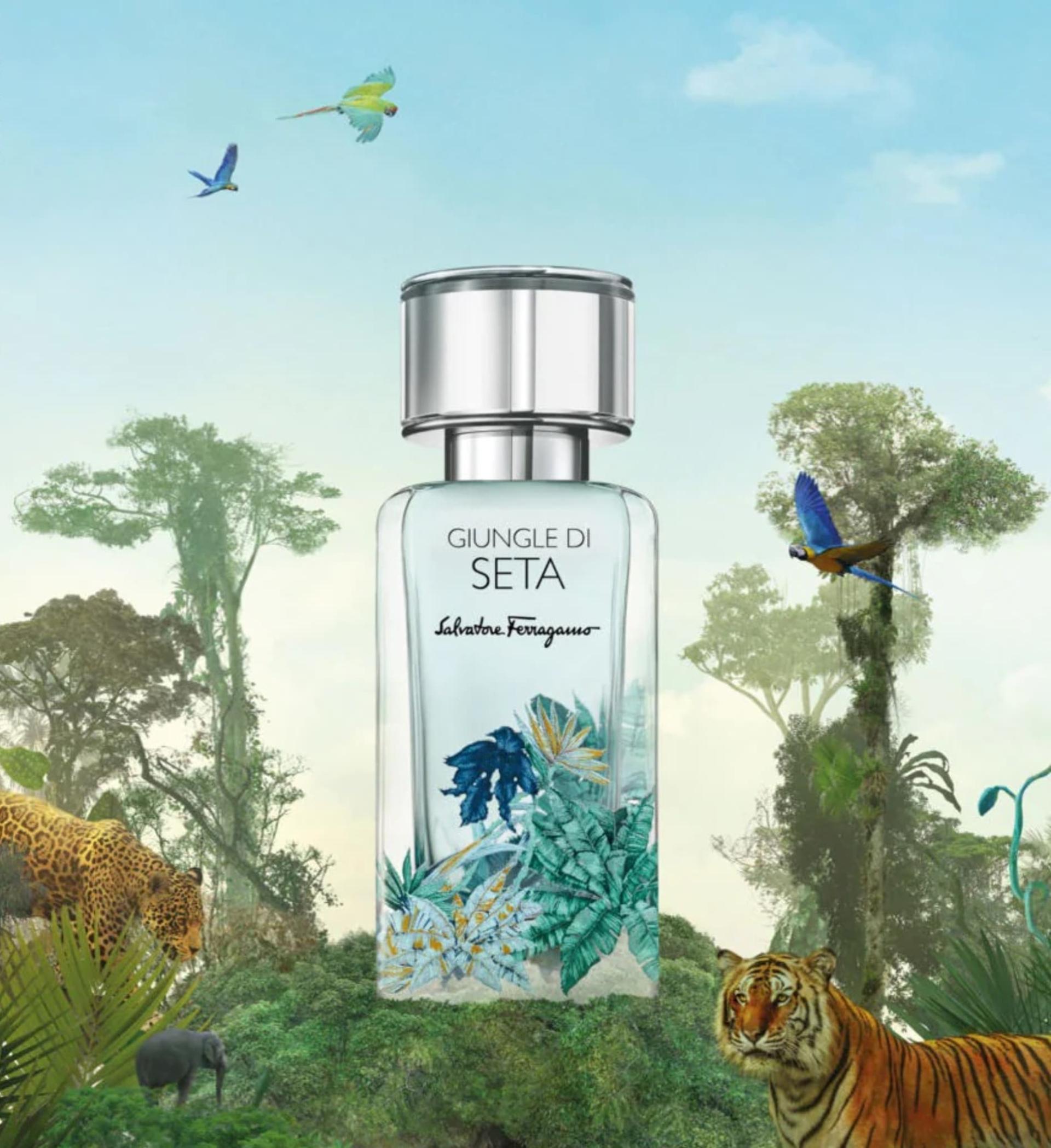 Salvatore Ferragamo y una nueva línea de perfumes 2021