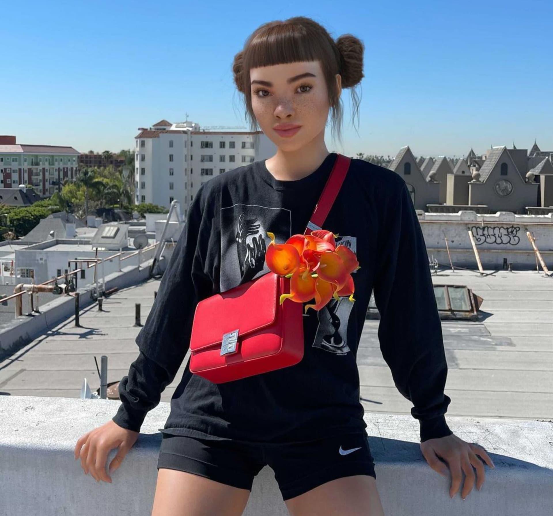 Lil Miquela la influencer digital más seguida en Instagram