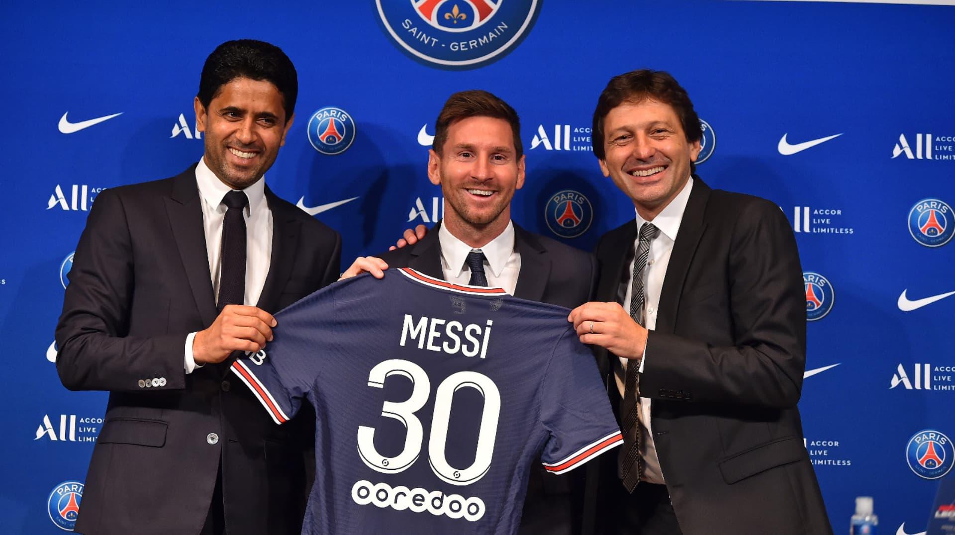 Estos son los productos de Lionel Messi en Paris Saint Germain