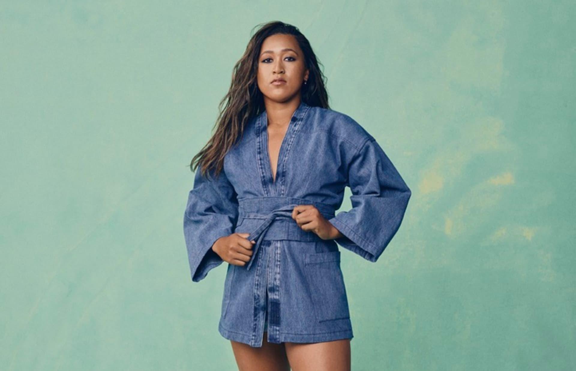 Levi's y Naomi Osaka así es la colección de prendas total denim