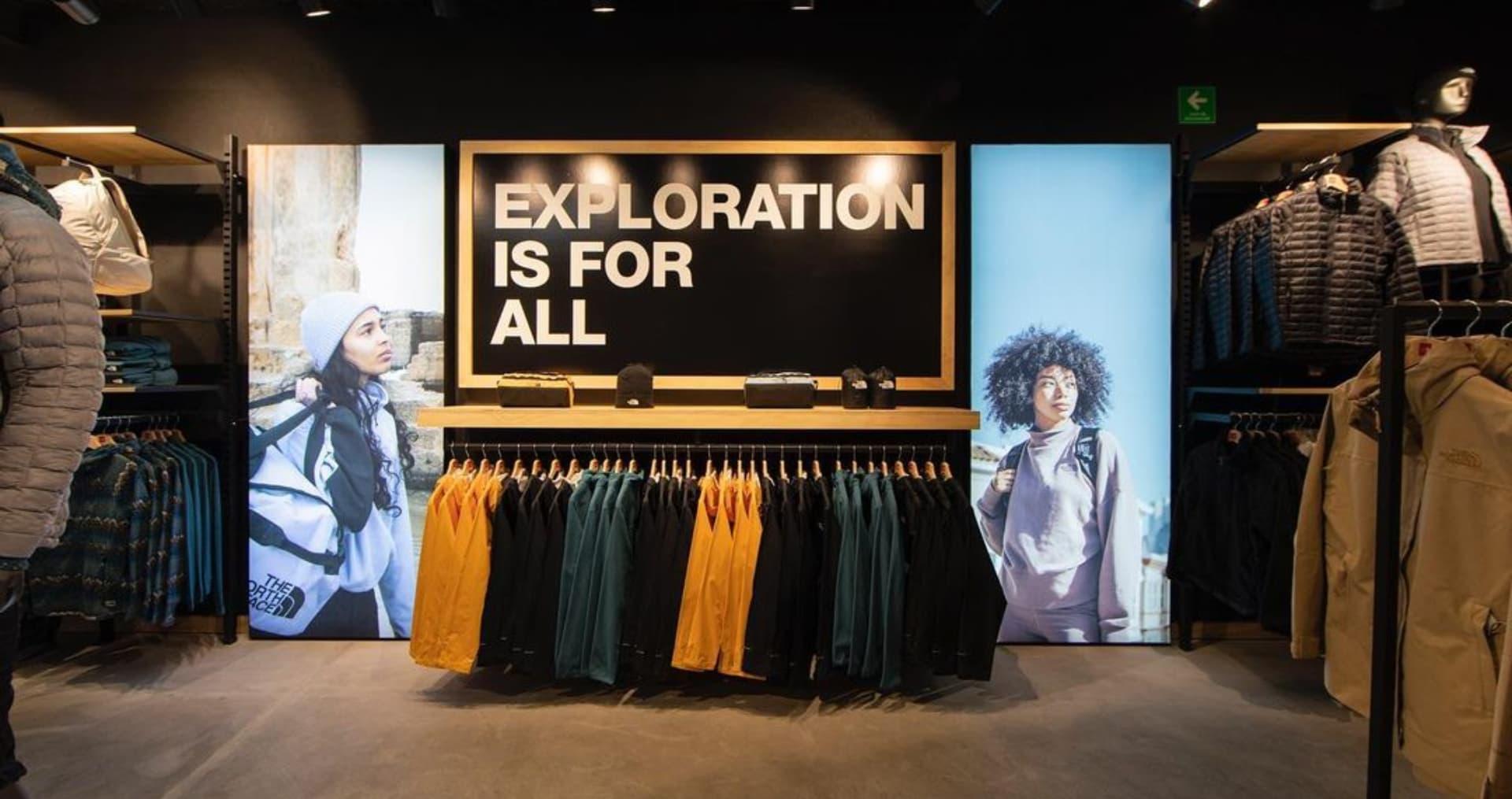 Así es la nueva tienda de The North Face en Mexico