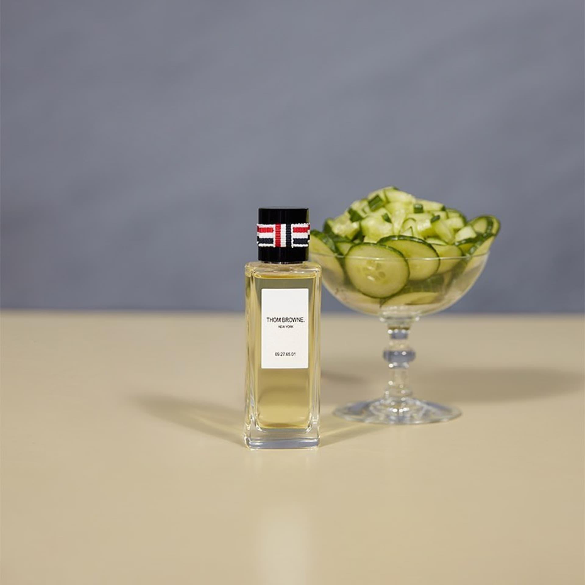 Thom Browne lanzó su línea de perfume inspiradas en cócteles y flores