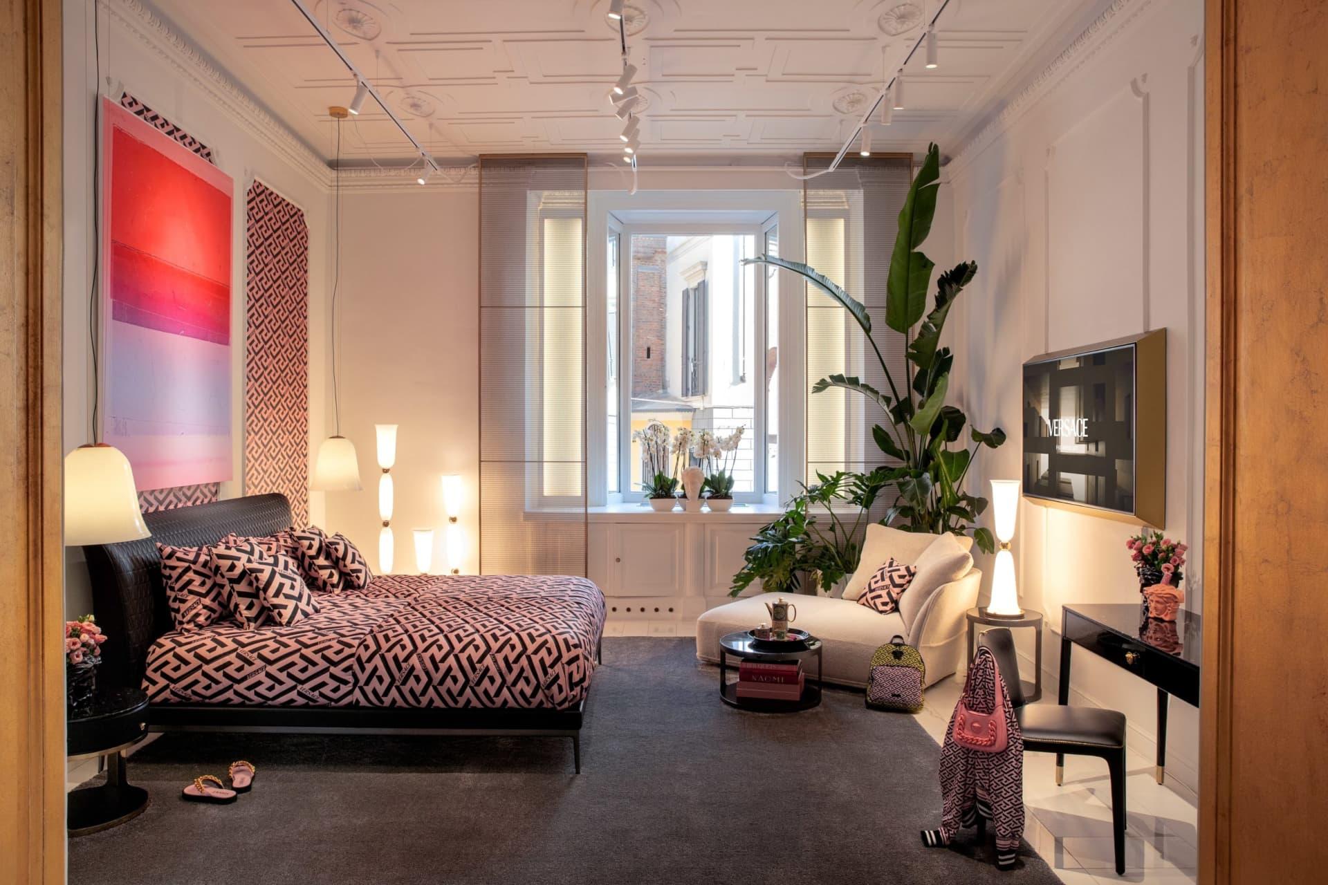 Versace Home la nueva línea de productos para el hogar