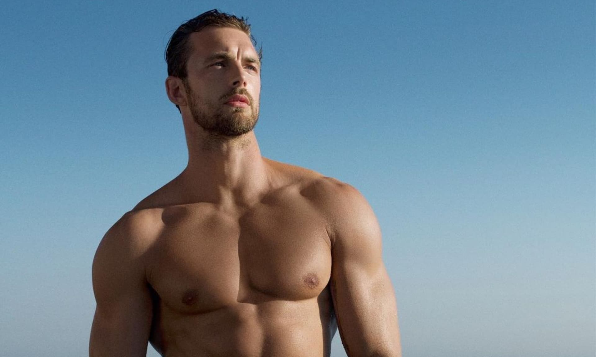 Christian Hogue el modelo que enciende Instagram