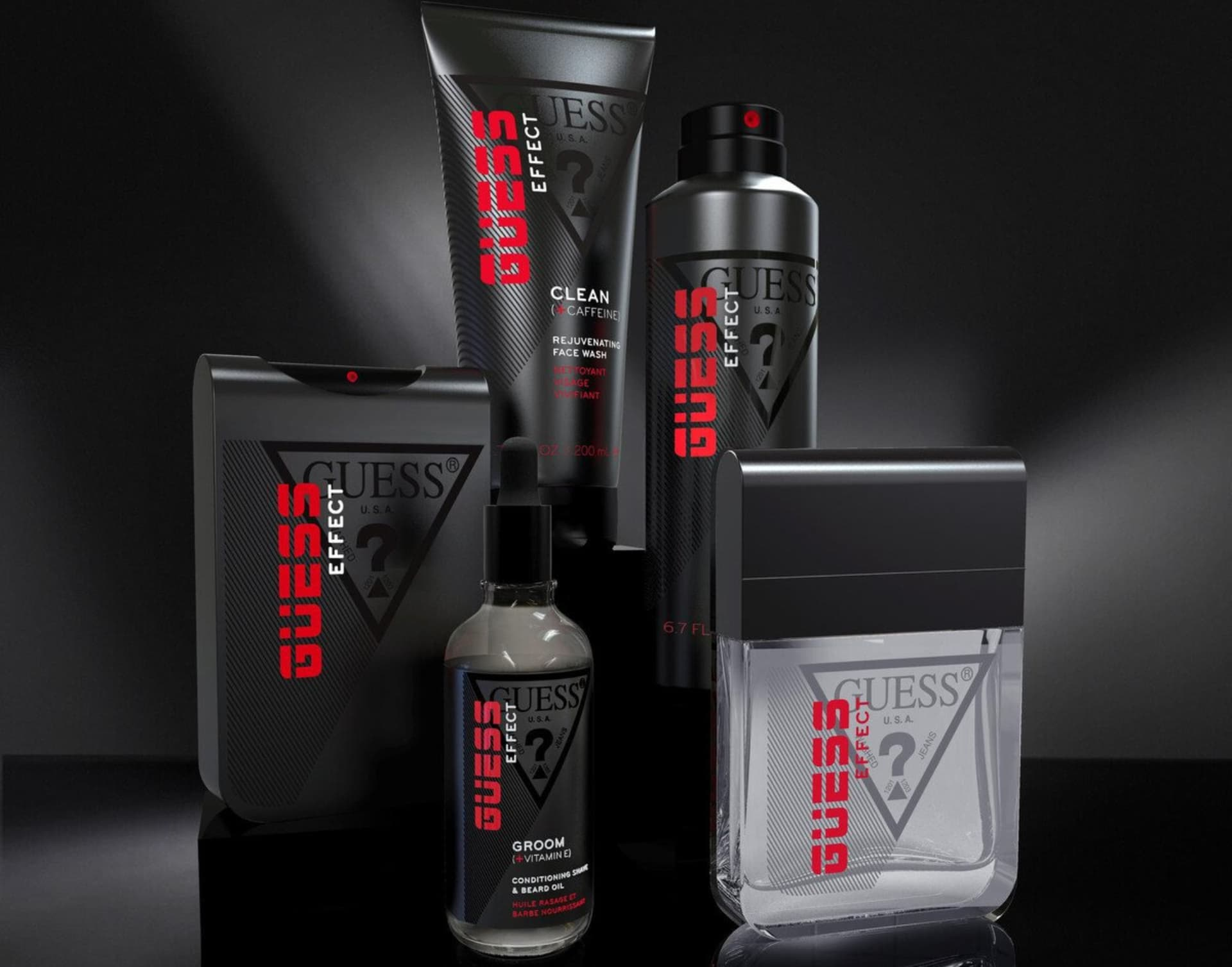 Guess Effect el nuevo perfume para hombres de Guess
