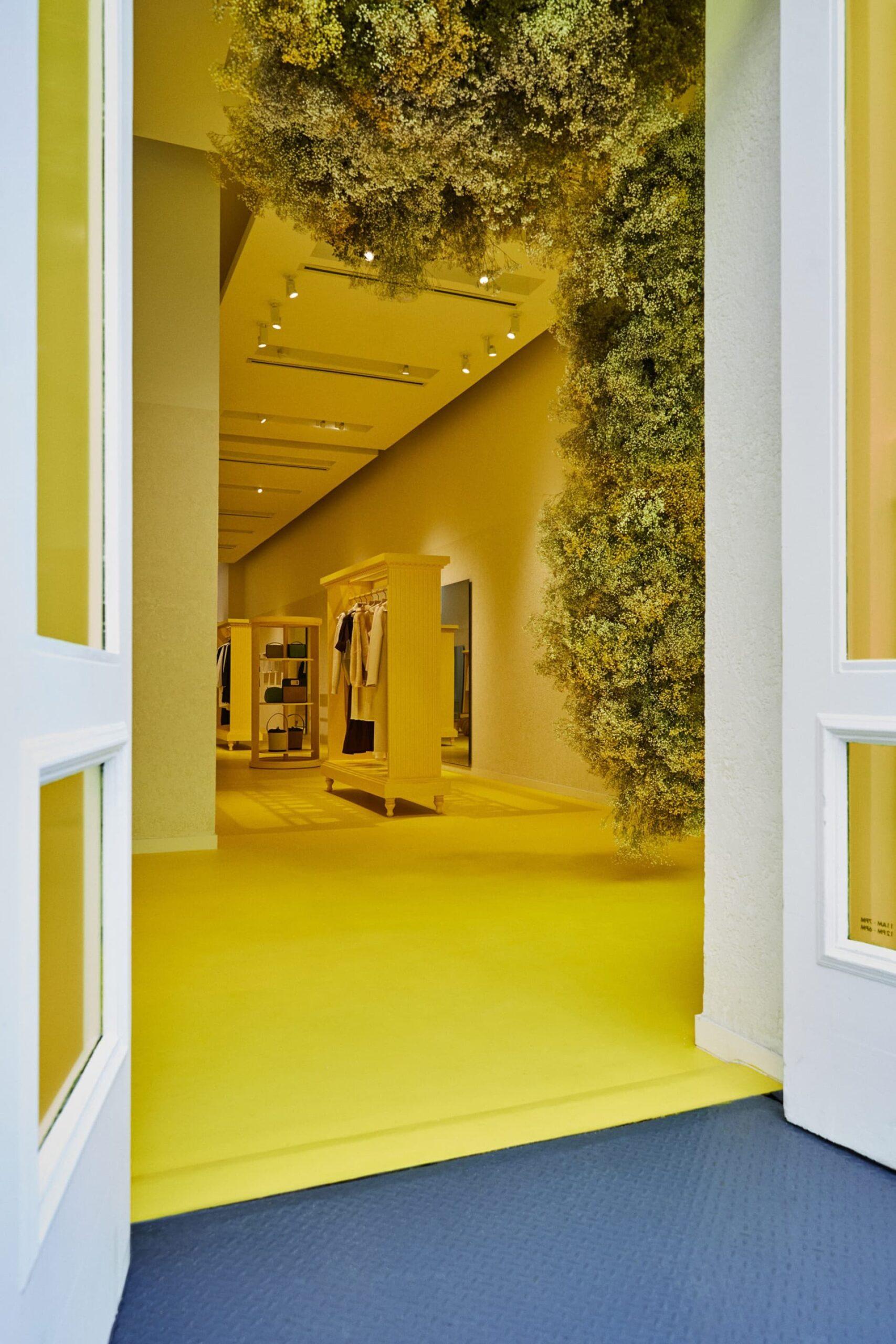 Así es la nueva tienda de Jil Sander en Soho Nueva York