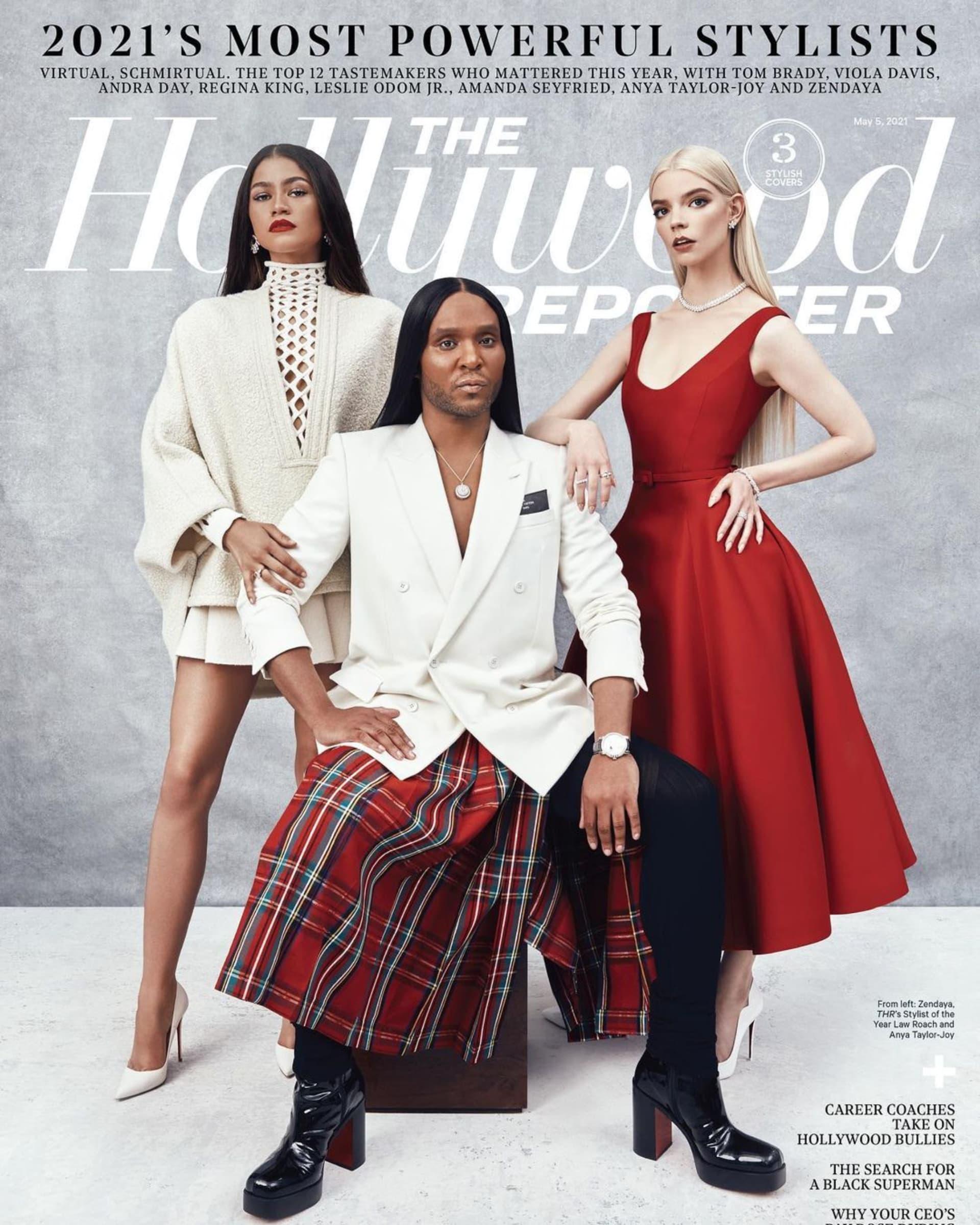 ¿Quién es el estilista detrás de los actores de Hollywood? Law Roach