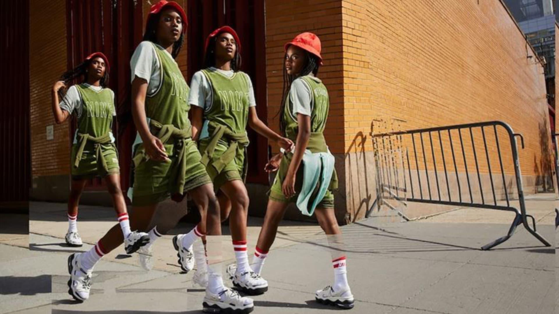 Serena Williams lanzó su primera colección junto a Nike