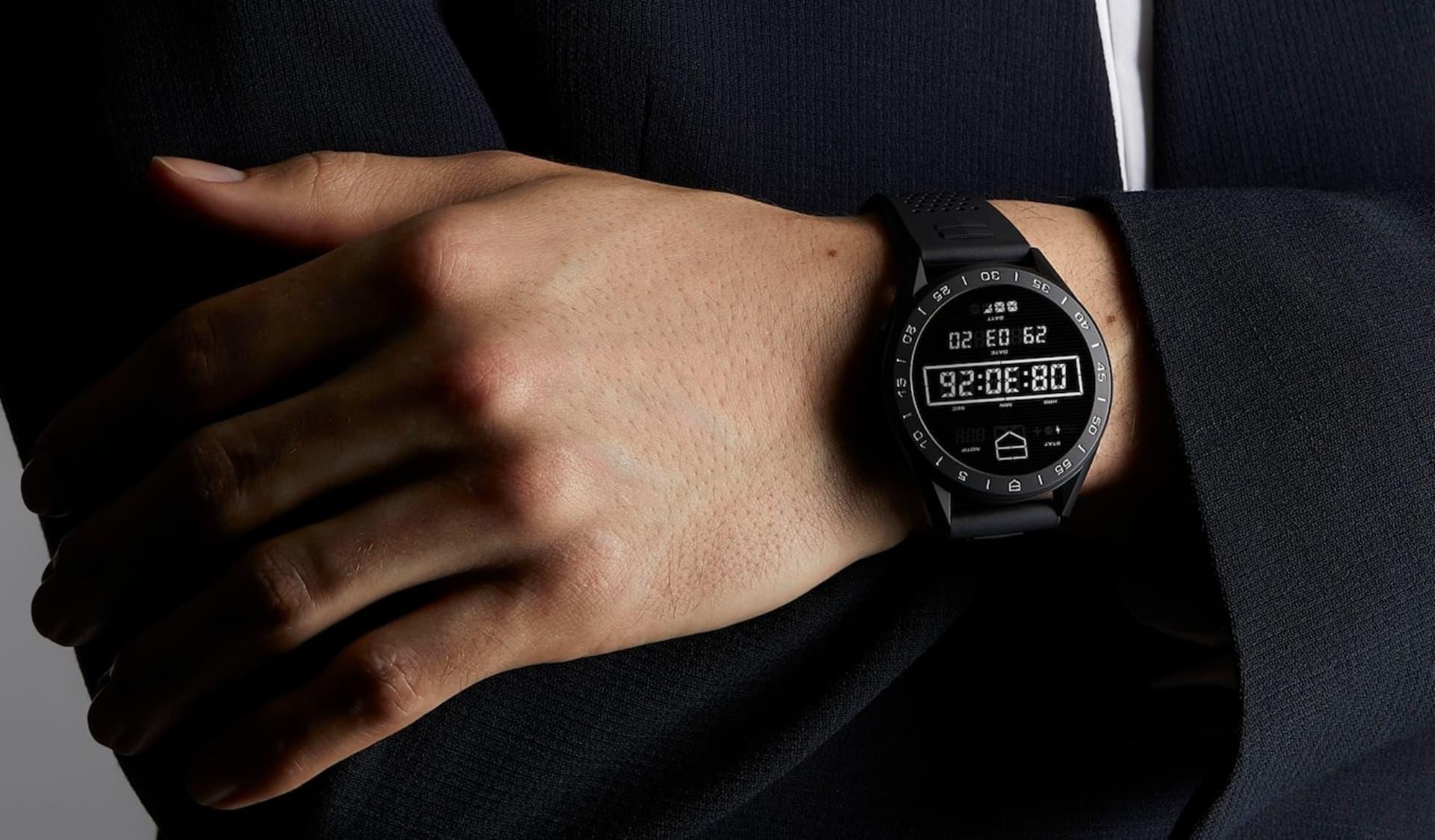 Así es el nuevo reloj Tag Heuer Connected Bright Black