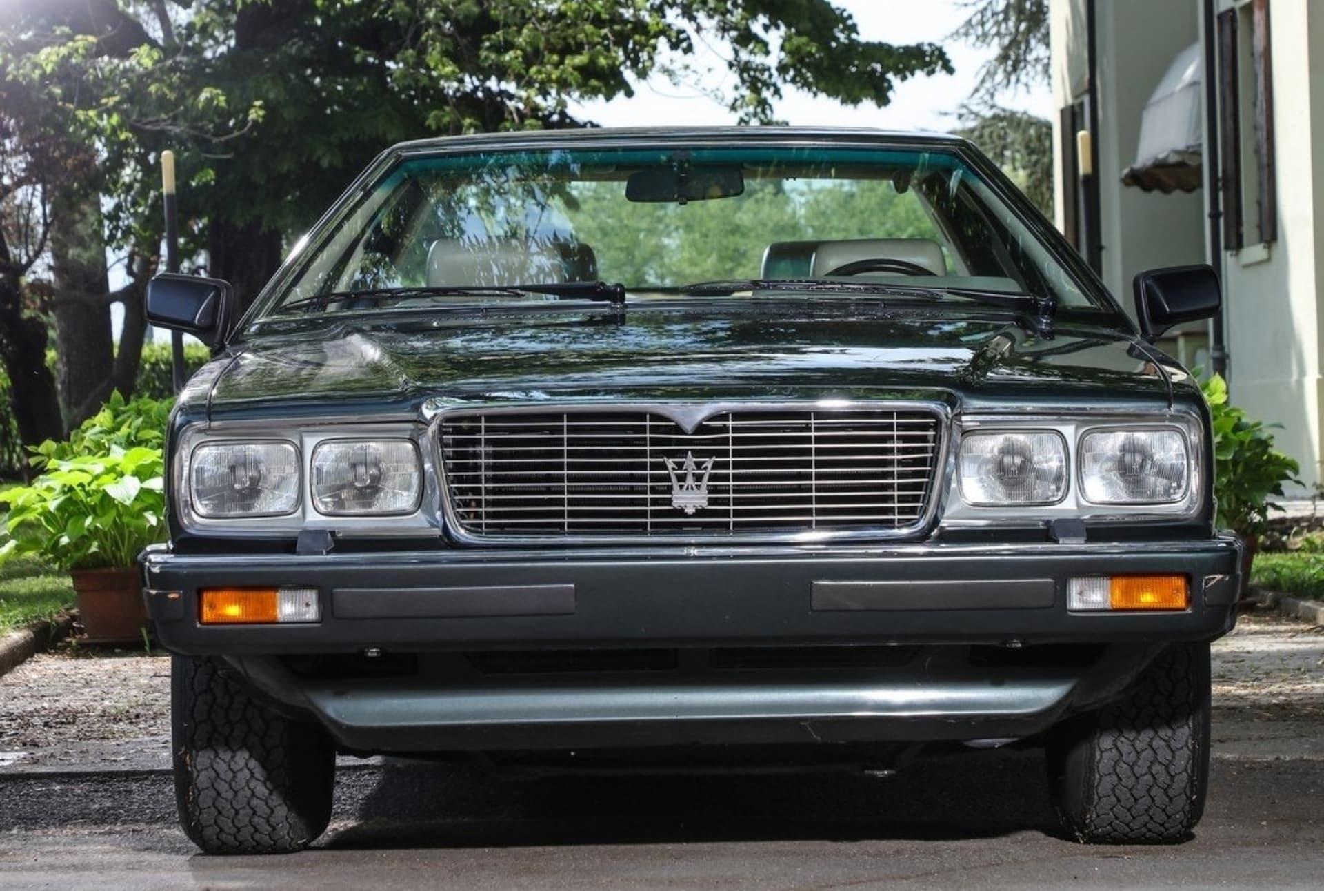 El icónico Maserati